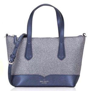 Kate Spade Glitter Satchel Crossbody Bag
